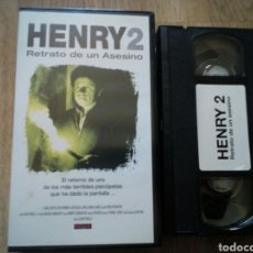 Cine: HENRY 2 RETRATO DE UN ASESINO VHS. Lote 194534252