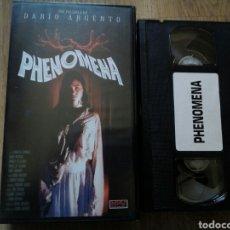 Cine: PHENOMENA VHS DARÍO ARGENTO. Lote 194534322