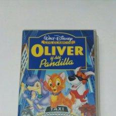 Cine: OLIVER Y SU PANDILLA VHS CLÁSICOS DISNEY. Lote 194534443