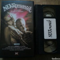 Cine: NEKROMANTIK VHS ULTRAGORE. Lote 194534455
