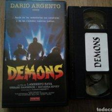 Cine: DEMONS VHS LAMBERTO BAVA. Lote 194534563
