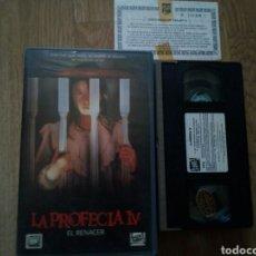 Cine: LA PROFECÍA 4 EL RENACER VHS. Lote 194534895