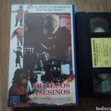 Cine: MUÑECOS ASESINOS VHS TERROR. Lote 194535005
