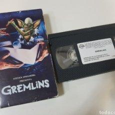 Cine: VHS GREMLINS / REGALO TELEPIZZA. Lote 194542352