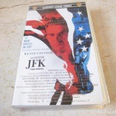 Cine: JFK CASO ABIERTO VHS - WARNER BROS 1992. Lote 194546040