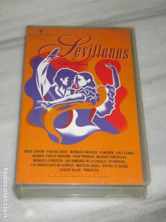 VHS SEVILLANAS DE CARLOS SAURA. (Cine - Películas - VHS)