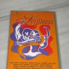 Cine: VHS SEVILLANAS DE CARLOS SAURA.. Lote 194560888