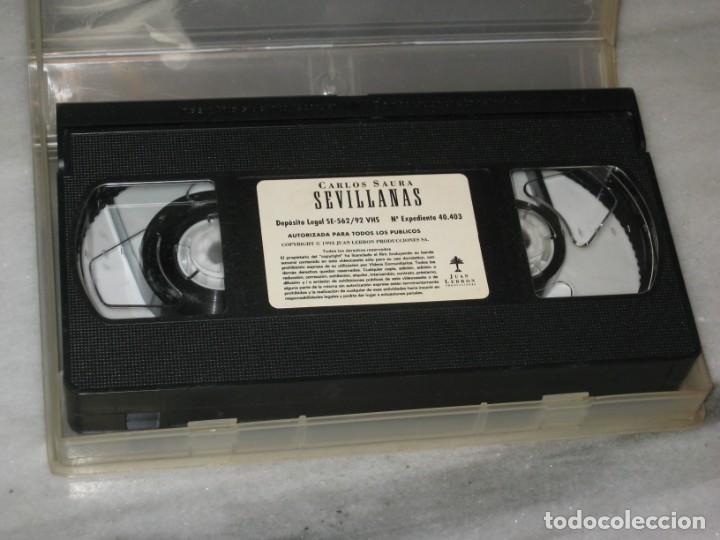 Cine: VHS Sevillanas de Carlos Saura. - Foto 3 - 194560888