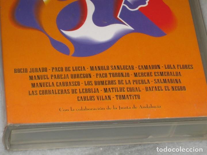 Cine: VHS Sevillanas de Carlos Saura. - Foto 4 - 194560888