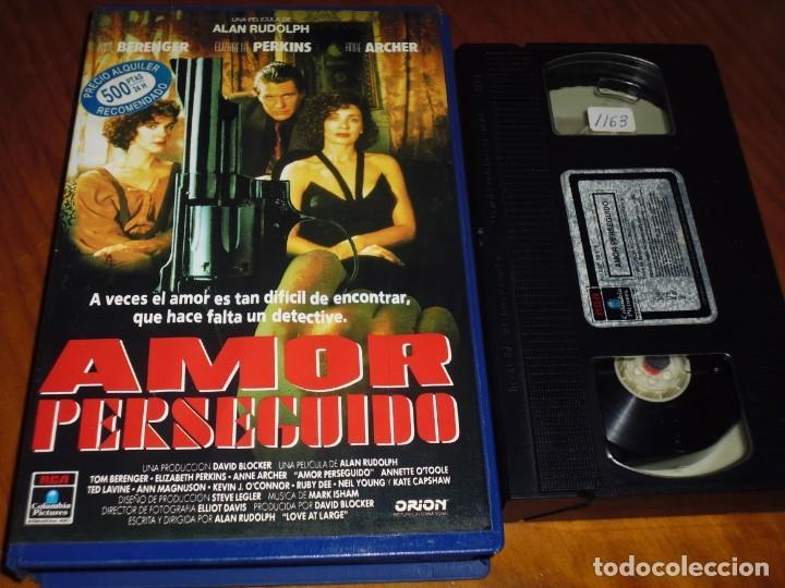 AMOR PERSEGUIDO - VHS - PEDIDO MINIMO 6 EUROS (Cine - Películas - VHS)