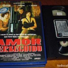 Cine: AMOR PERSEGUIDO - VHS - PEDIDO MINIMO 6 EUROS. Lote 194569480