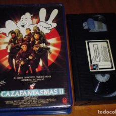 Cine: CAZAFANTASMAS 2 - BILL MURRAY, SIGOURNEY WEAVER, IVAN REITMAN - VHS - 1ª EDICION CAJA GRANDE. Lote 194569597