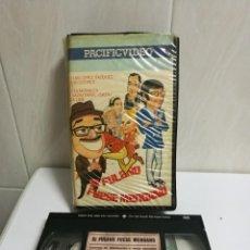 Cine: VHS SI FULANO FUESE MENGANO 1EDICIÓN. Lote 194619516