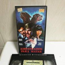 Cine: VHS ADIESTRADOS PARA MATAR. Lote 194619787
