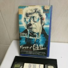Cine: VHS FORCE OF EVIL. Lote 194621620