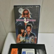 Cine: VHS MORDISCOS PELIGROSOS FILMS4. Lote 194621850