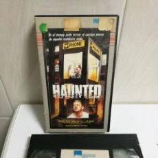 Cine: VHS HAUNTED. Lote 194622665