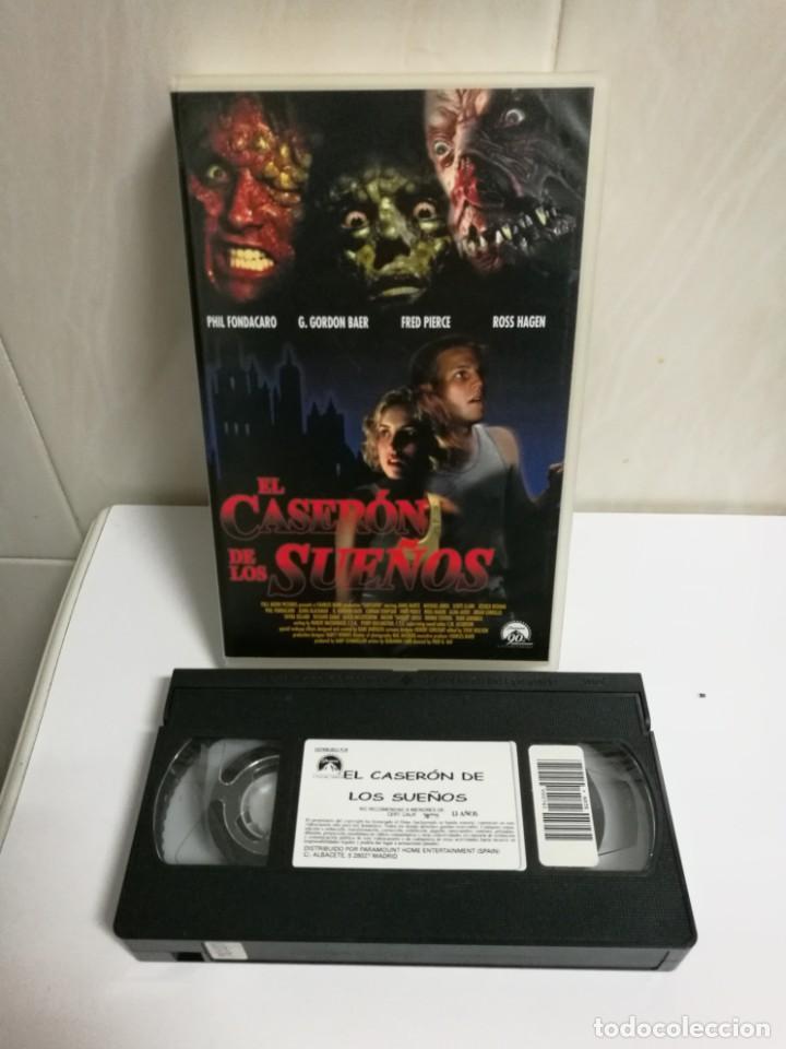 VHS EL CASERON DE LOS SUEÑOS (Cine - Películas - VHS)