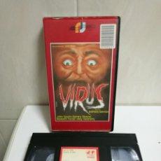 Cine: VHS VIRUS EDICIÓN RARÍSIMA . Lote 194626508