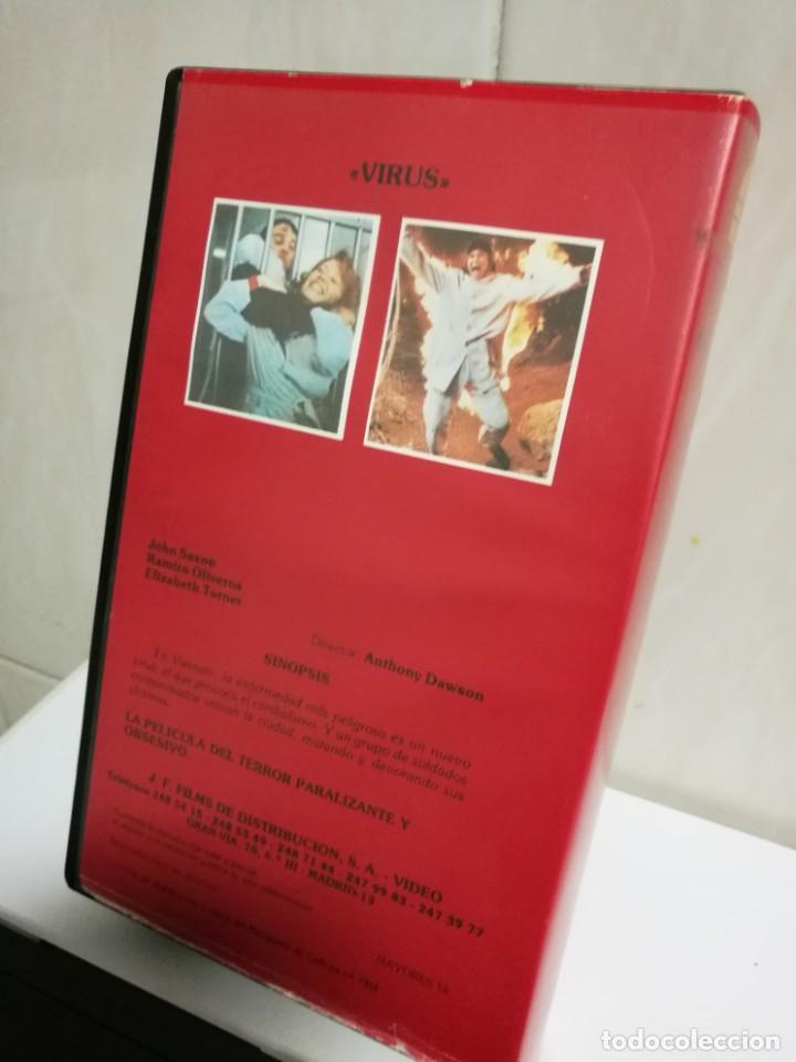 Cine: VHS VIRUS EDICIÓN RARÍSIMA - Foto 2 - 194626508