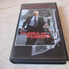 Cine: CLINT EASTWOOD - EN LA LINEA DE FUEGO VHS - PLANETA DEAGOSTINI 1997. Lote 194649145
