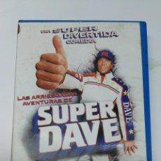 Cine: LAS ARRIESGADAS AVENTURAS DE SUPER DAVE VHS COMEDIA. Lote 194696587