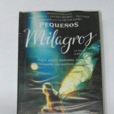 Cine: PEQUEÑOS MILAGROS VHS 1999. Lote 194701768