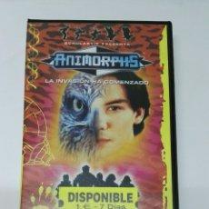 Cine: ANIMORPHS LA INVASIÓN HA COMENZADO VHS. Lote 194702428