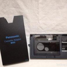 Cine: ADAPTADOR PARA CINTAS VHS-C A VHS - PANASONIC VW-TCA7E. Lote 194716148
