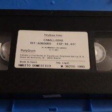 Cine: 1 VIDEO VHS SIN CARATULA DE ** CANALLADAS. GERARD JOURD'HUI ** 1995 SIN REVISAR . Lote 194736411