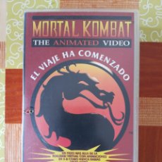 Cine: VHS - MORTAL KOMBAT THE ANIMATED VIDEO. Lote 194754671