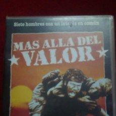 Cine: MÁS ALLÁ DEL VALOR. Lote 194786207