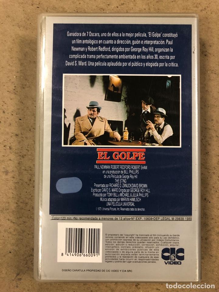 Cine: - VHS - EL GOLPE. PAUL NEWMAN, ROBERT REDFORD. - Foto 3 - 194895401