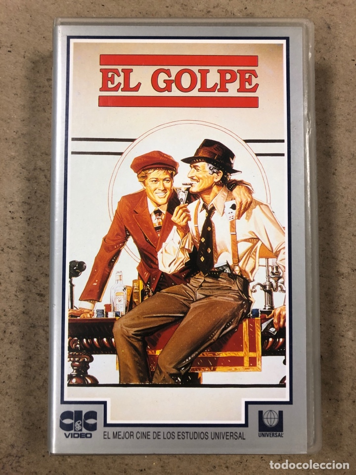 - VHS - EL GOLPE. PAUL NEWMAN, ROBERT REDFORD. (Cine - Películas - VHS)