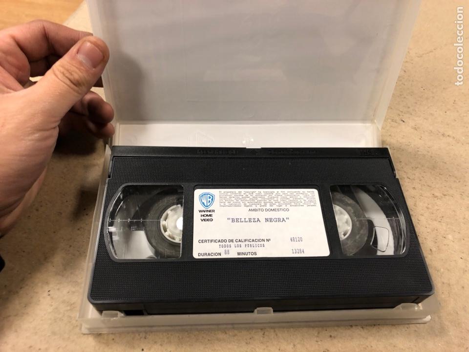 Cine: - VHS - BELLEZA NEGRA. - Foto 2 - 194895487