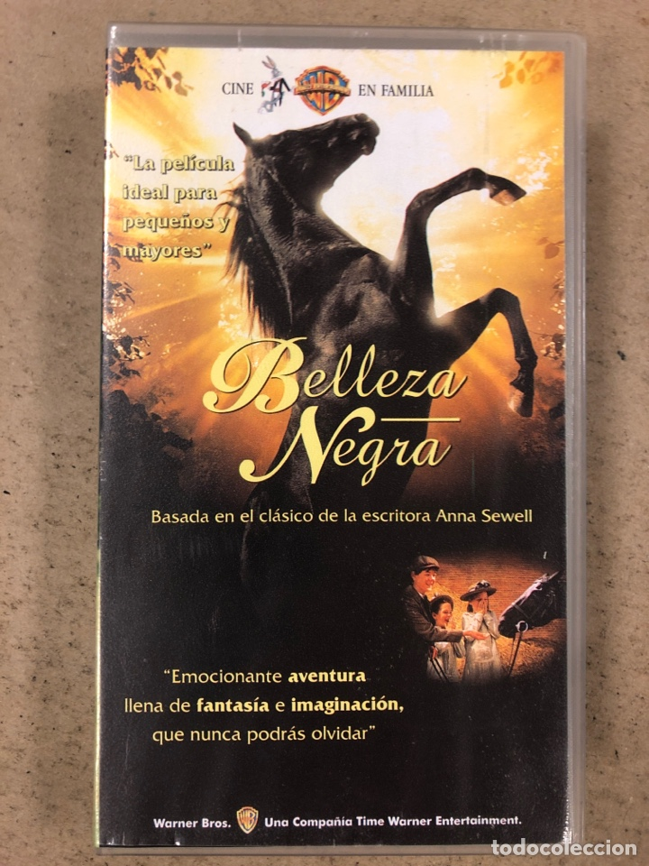 - VHS - BELLEZA NEGRA. (Cine - Películas - VHS)
