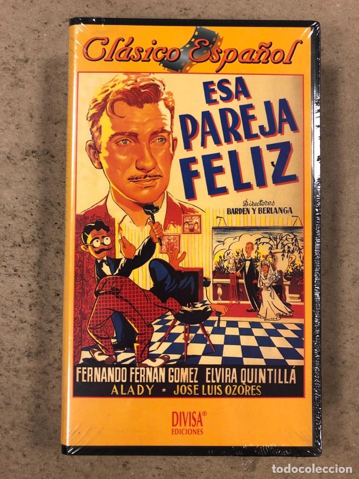 - VHS - ESA PREJA FELIZ. BARDEN Y BERLANGA. FERNANDO FERNÁN GÓMEZ. CON PLÁSTICO PRECINTO. (Cine - Películas - VHS)