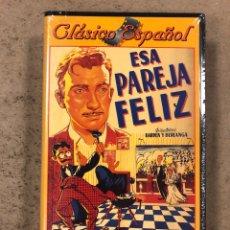 Cine: - VHS - ESA PREJA FELIZ. BARDEN Y BERLANGA. FERNANDO FERNÁN GÓMEZ. CON PLÁSTICO PRECINTO.. Lote 194895596