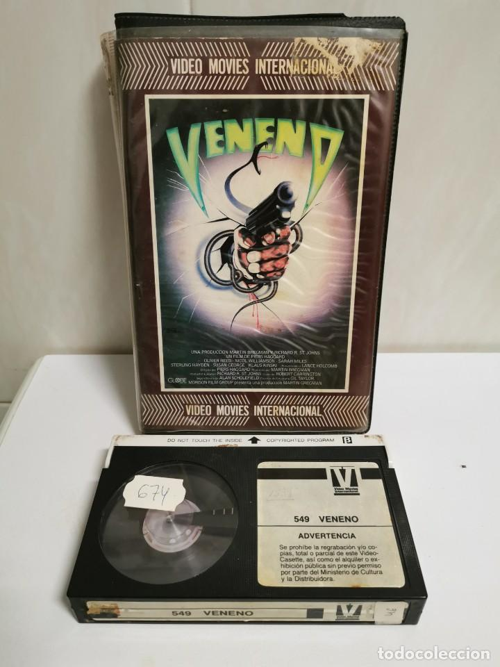 BETA VENENO (Cine - Películas - VHS)