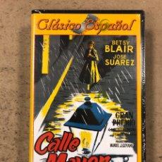 Cine: - VHS - CALLE MAYOR. J. A. BARDEM. CON PLÁSTICO PRECINTO.. Lote 194895781