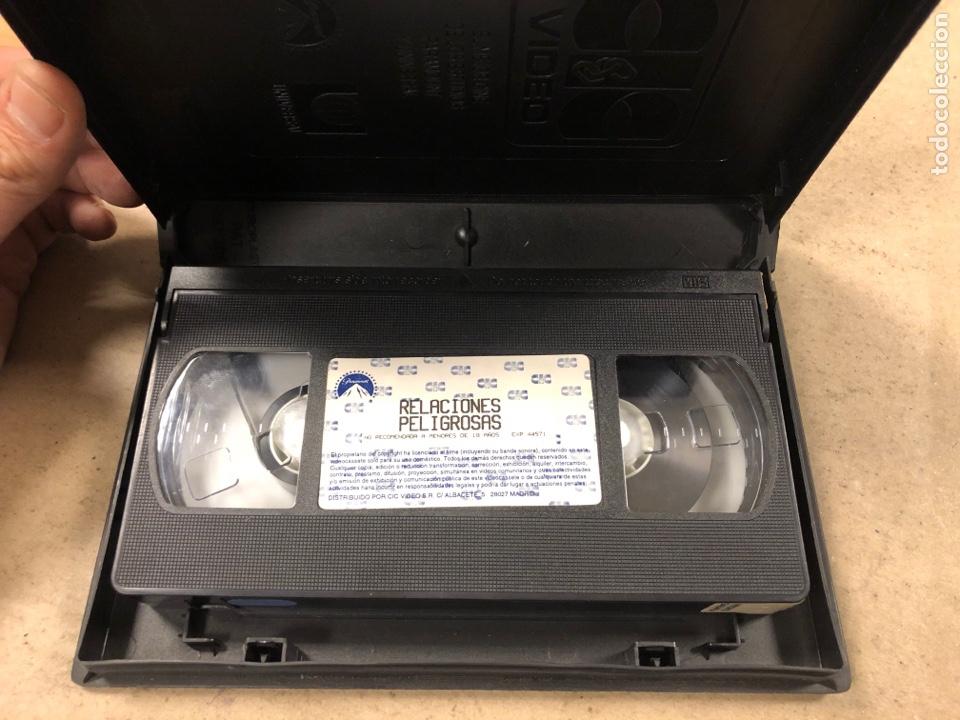 Cine: - VHS - RELACIONES PELIGROSAS. - Foto 2 - 194898786