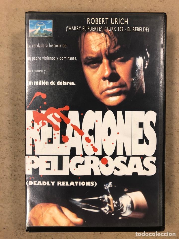 - VHS - RELACIONES PELIGROSAS. (Cine - Películas - VHS)