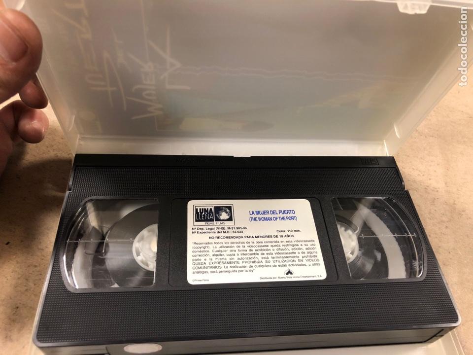 Cine: - VHS - LA MUJER DEL PUERTO. ARTURO RIPSTEN. - Foto 2 - 194898885