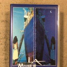 Cine: - VHS - LA MUJER DEL PUERTO. ARTURO RIPSTEN.. Lote 194898885