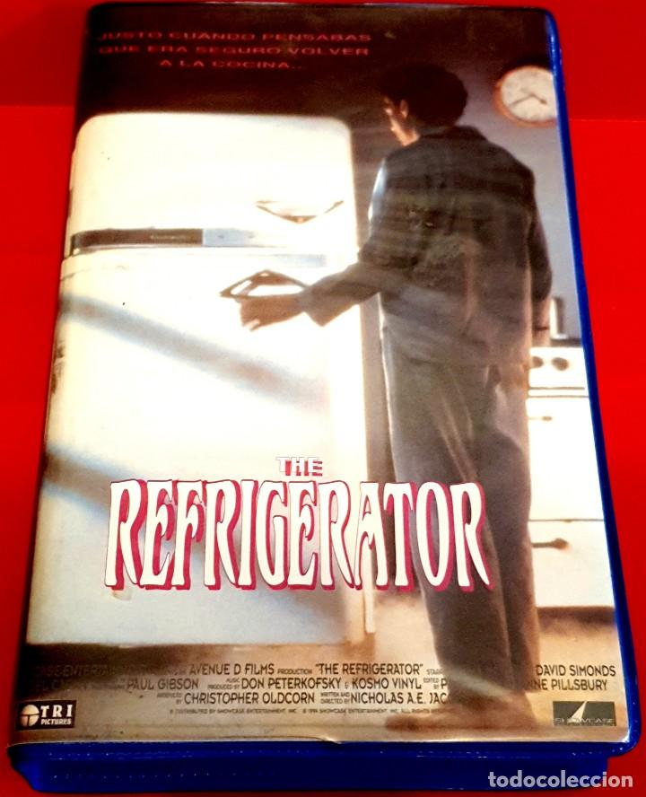 THE REFRIGERATOR - RAREZA TERROR DEMONIACO (Cine - Películas - VHS)