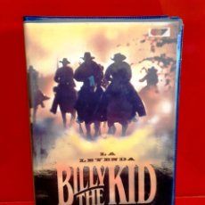 Cine: LA LEYENDA DE BILLY THE KID - VAL KILMER, WILLIAM A. GRAHAM. Lote 194905785