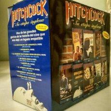 Cine: ''HITCHCOCK. SU ETAPA INGLESA'' - COLECCIÓN DE OCHO PELÍCULAS (VHS). Lote 194906861