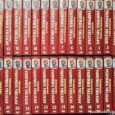 Cine: JACQUES COUSTEAU - COLECCIONES ''AVENTURA SUBMARINA'' Y ''MUNDO SUBMARINO'' (VHS) - 78 CINTAS. Lote 194906885