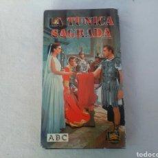 Cine: PELÍCULA VHS LA TUNICA SAGRADA. Lote 194945295