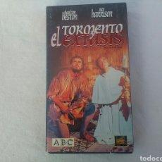Cine: PELÍCULA VHS EL TORMENTO Y EL ÉXTASIS. Lote 194945598